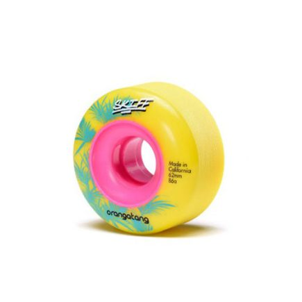 ORANGATANG - Skiff 62mm / 86a Yellow