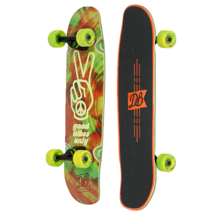 DB LONGBOARDS Good Vibes Cruiser Skateboard