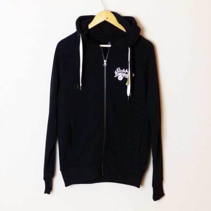 Studio Longboard Hoodie Zipper black