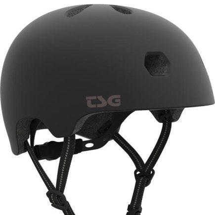 TSG Helm Meta Solid Black