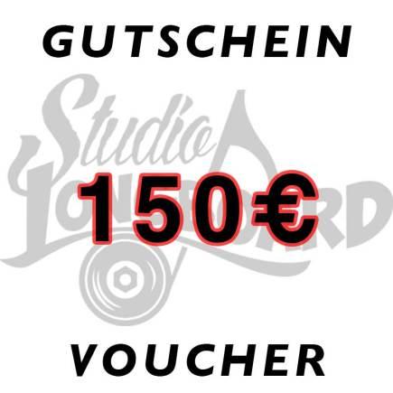 Gutschein über 150 €