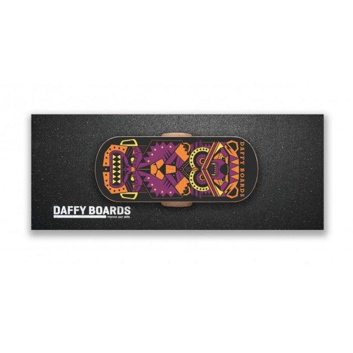 DAFFYBOARD Balance Board Set Zensation Black