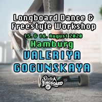 Longboard Dance & Freestyle Workshops mit Valeriya Gogunskaya