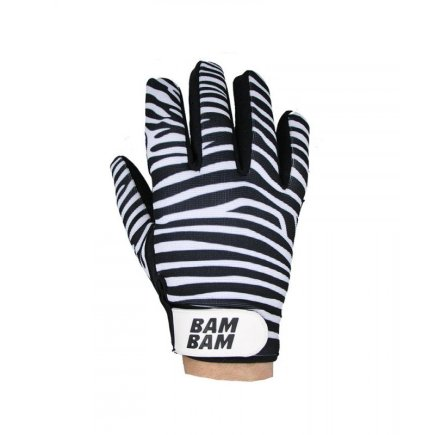 BAMBAM Fabric Gloves Zebra