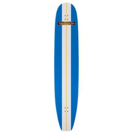"HAMBOARDS Classic 74"" Surfskate Longboard Blue White"