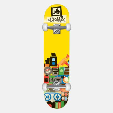 Cliché Document Yellow 8.0 Skateboard