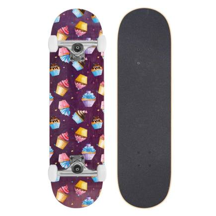 BTFL Cupcakes Skateboard 8.125