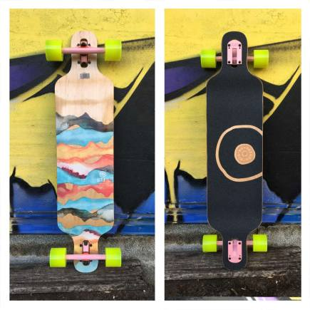 BTFL KEANU SL double drop longboard