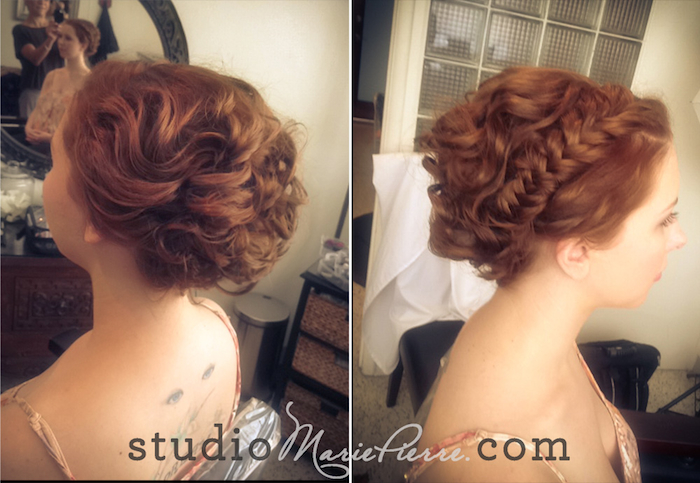 Wedding Hairstyles For Short Hair 2012: Bre's Short Hair Bridal Updo
