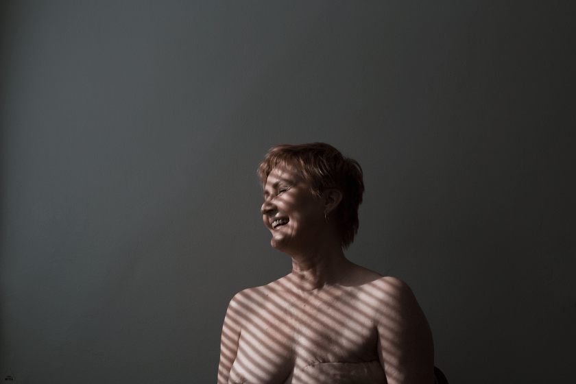 Portrait after mastectomy by Studio Metsä Photography