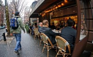 January Manhattan Street Cafe
