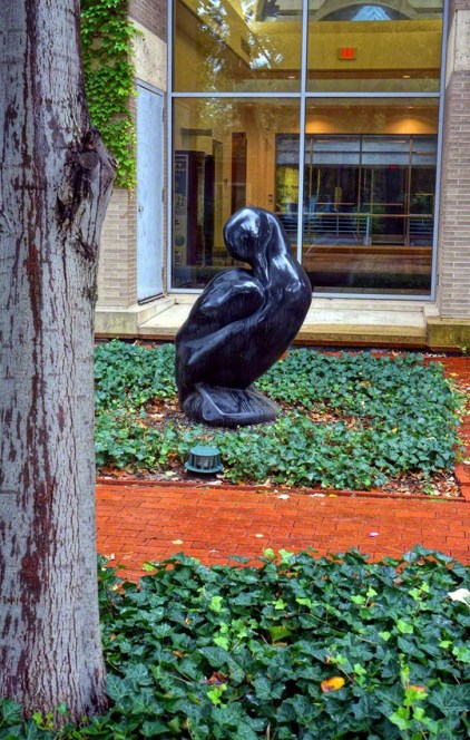 """Labrador Duck"" by Todd McGrain - View # 1"