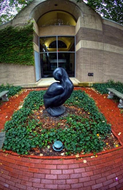 """Labrador Duck"" by Todd McGrain - View # 2"