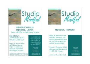 Meld je aan voor de groepscursus Mindful Leven en of het wekelijkse Mindful Moment