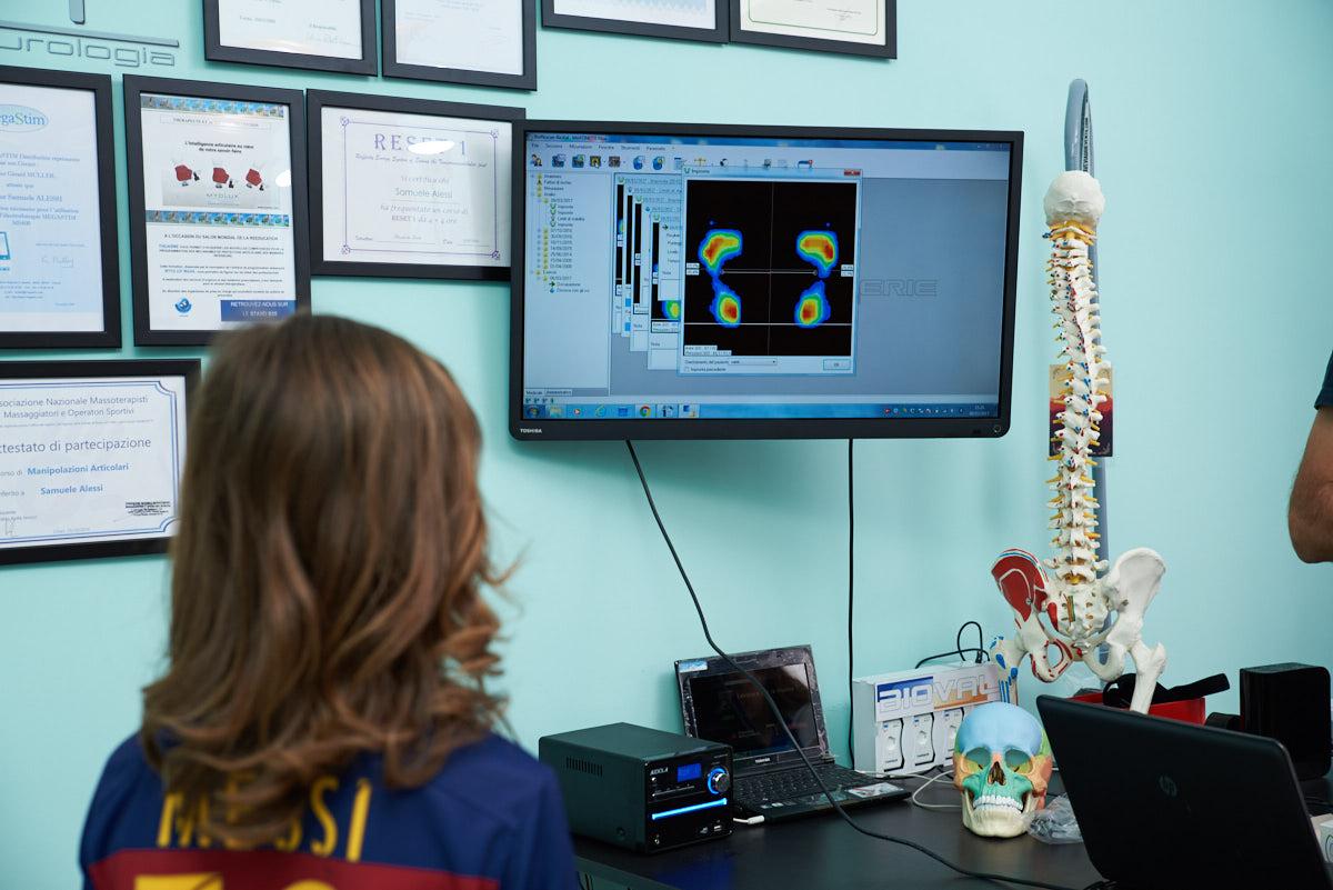 esame posturale per bambini