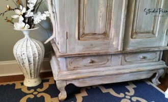 "How to Paint a French Provincial Armoire in Style ""Parkside"""