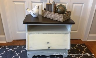 "Painted Media Cabinet ""Gregory"""