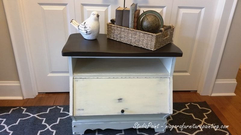 Painted Media Cabinet