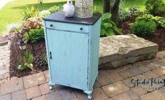 "Painted Occasional Cabinet ""Chestnut"""