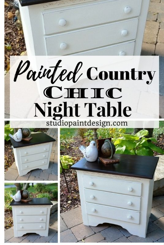 Country Chic Night Table