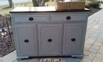 "Duncan Phyfe Painted Buffet ""Cindy"""