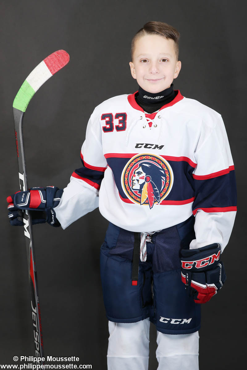 Jeune hockeyeur