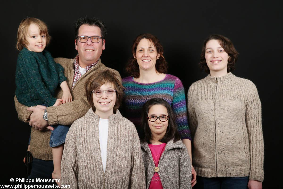 Famille de 4 enfants