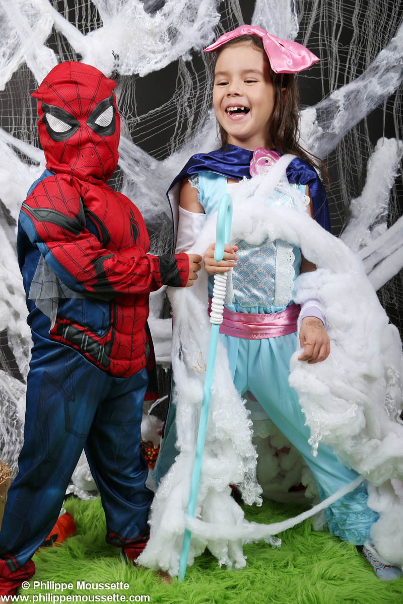 Princesse et Spiderman