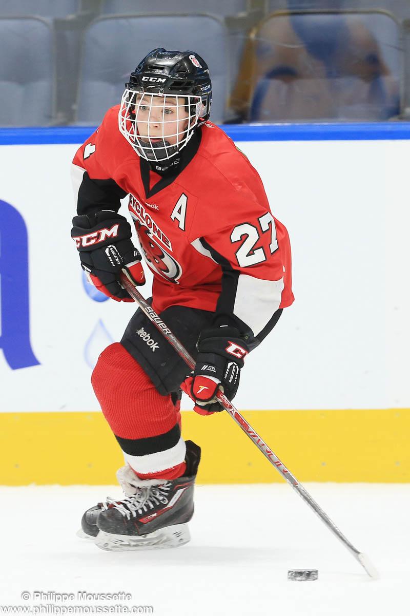 Hockeyeur en action