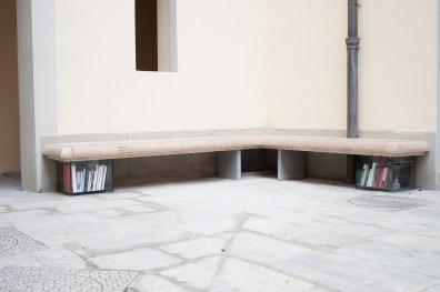 Paca di Via | corte della Galleria Gentili, Firenze.