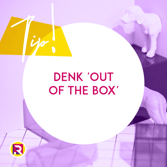Denk 'out of the box'