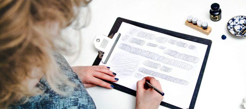 Download kalligrafie oefeningen warming-up