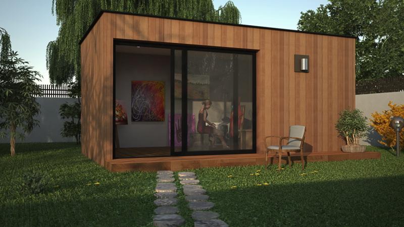 atelier d artiste extension en bois