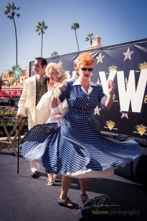Lucy still has the moves during the 2015 Bing Crosby Opening Day at Del Mar.