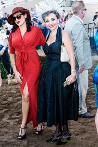 Ladies looking lovely at 2015 Bing Crosby Opening Day at Del Mar