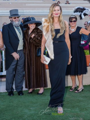 1st Place Most Glamorous at 2015 Bing Crosby Opening Day at Del Mar