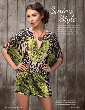 Ranch & Coast Magazine April 2015 Spring Style Photo Shoot