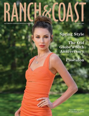 Ranch & Coast Magazine April 2015 Spring Style Photo Shoot Cover