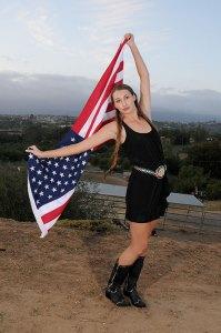 Model Christianna Knutson styled by Deena Savvy, make up by James Overstreet