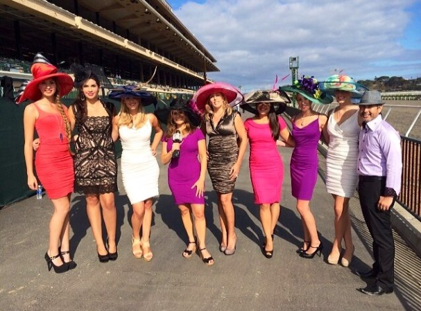 Studio Savvy Salon promoting Fashion, Fun and Sun on Opening Day at the Del Mar Race Track