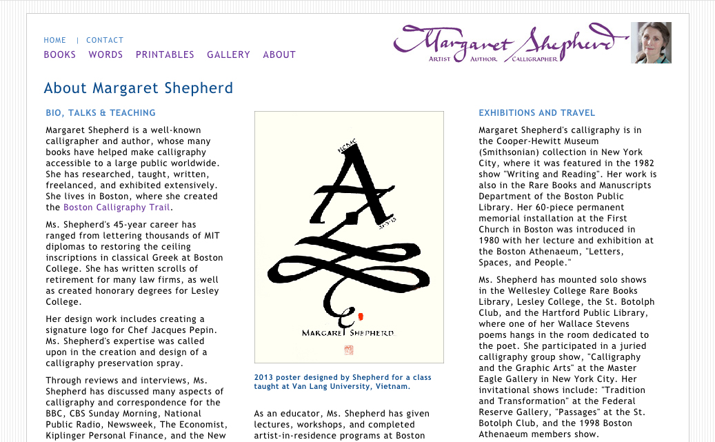 Shepherd Website Detail