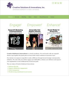 Creative Solutions & Innovations Website