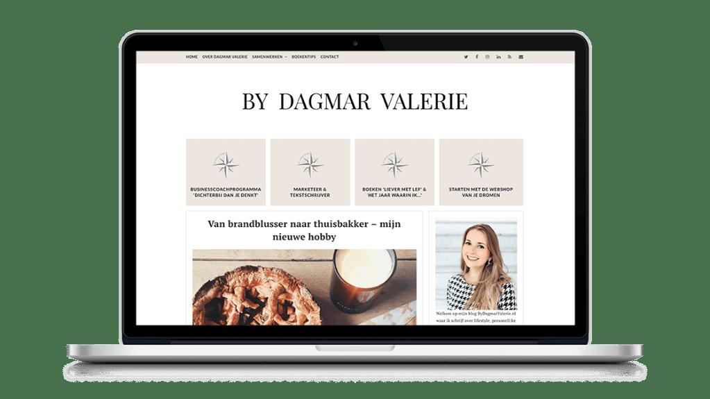 Website By Dagmar Valerie door Studio Solveig