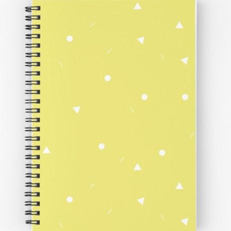 notitieboekje geel geo