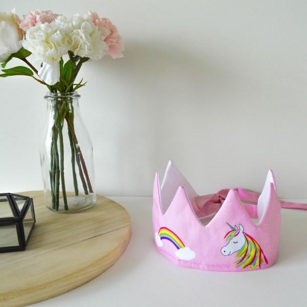 Handgemaakte kroon unicorn