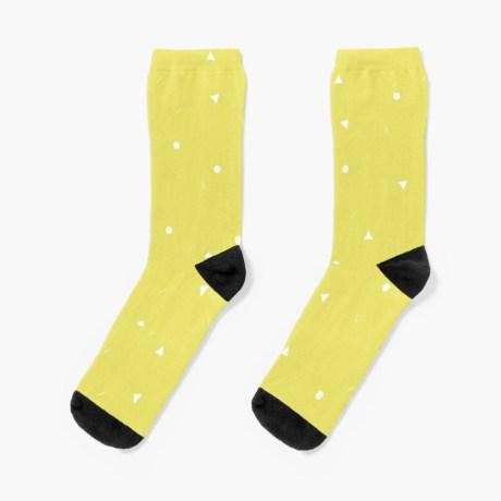 sokken geel geo
