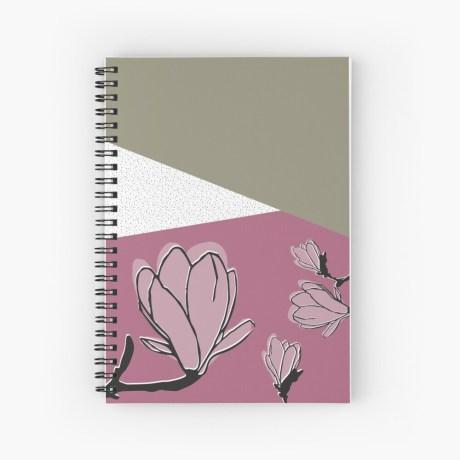 notitieboekje magnolia