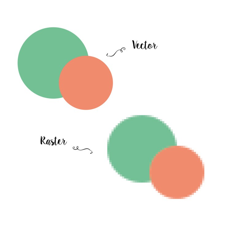 vector versus raster