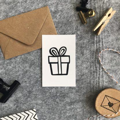 cadeau minikaart