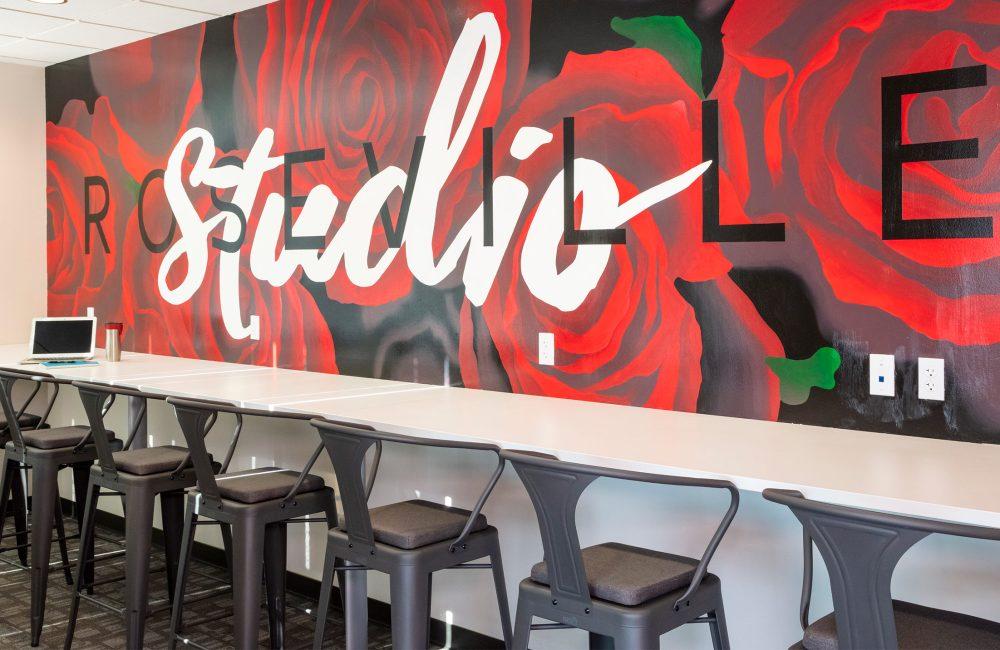 The Studio Coworking Creekside Roseville Mural
